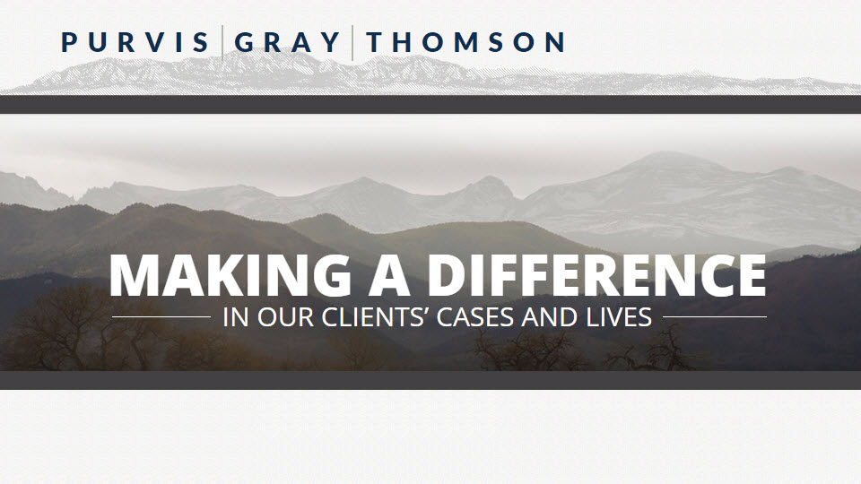 Purvis Gray Thomson Llp At 1600 Broadway Denver Co On Fave