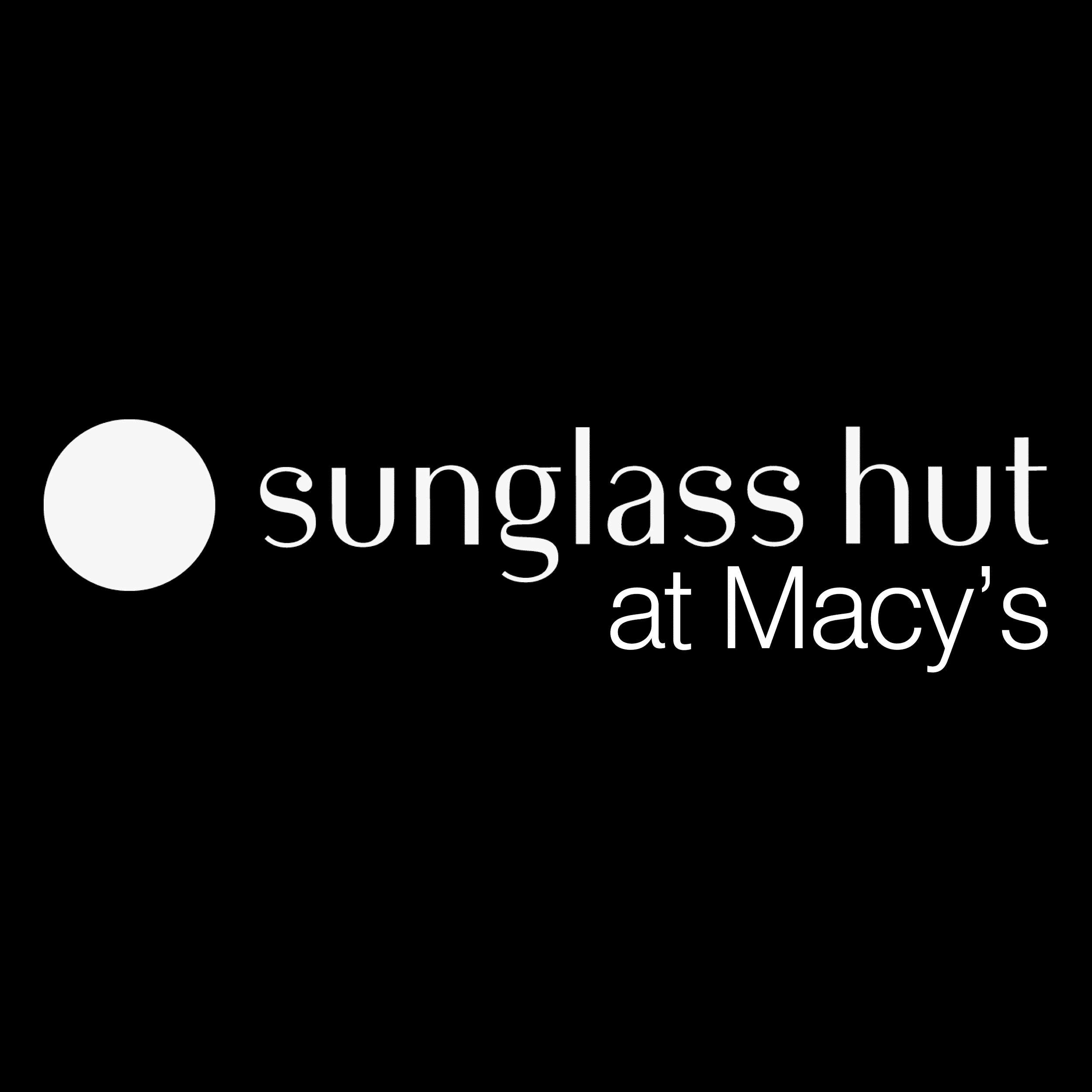 Sunglass Hut at Macy's - ad image