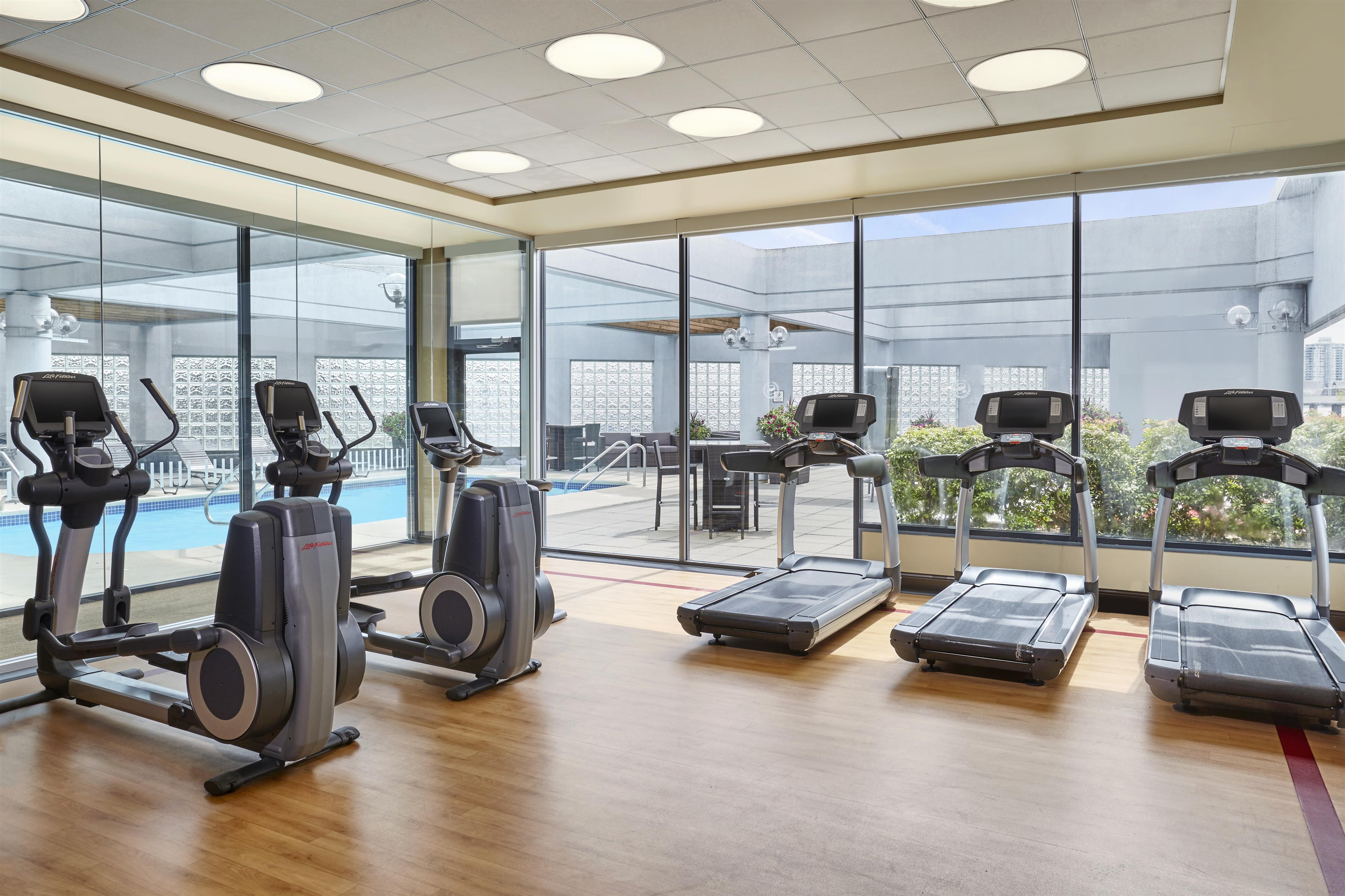Sheraton Vancouver Guildford Hotel in Surrey: Fitness Center