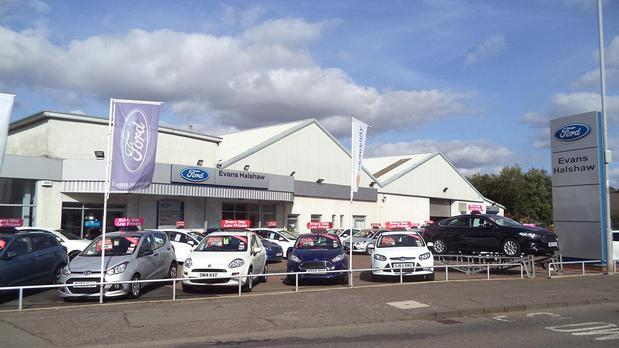 The front of Ford Kirkintilloch