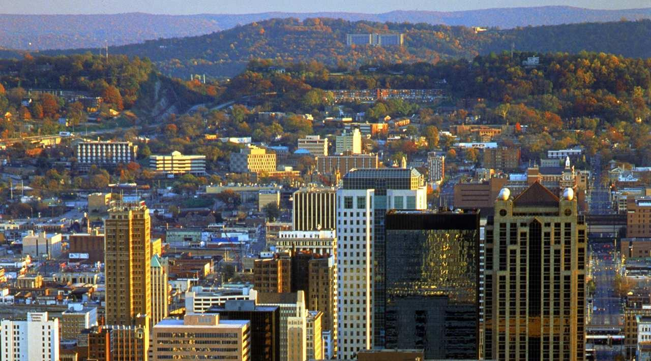 Downtown Birmingham is minutes from our centrally located hotel.