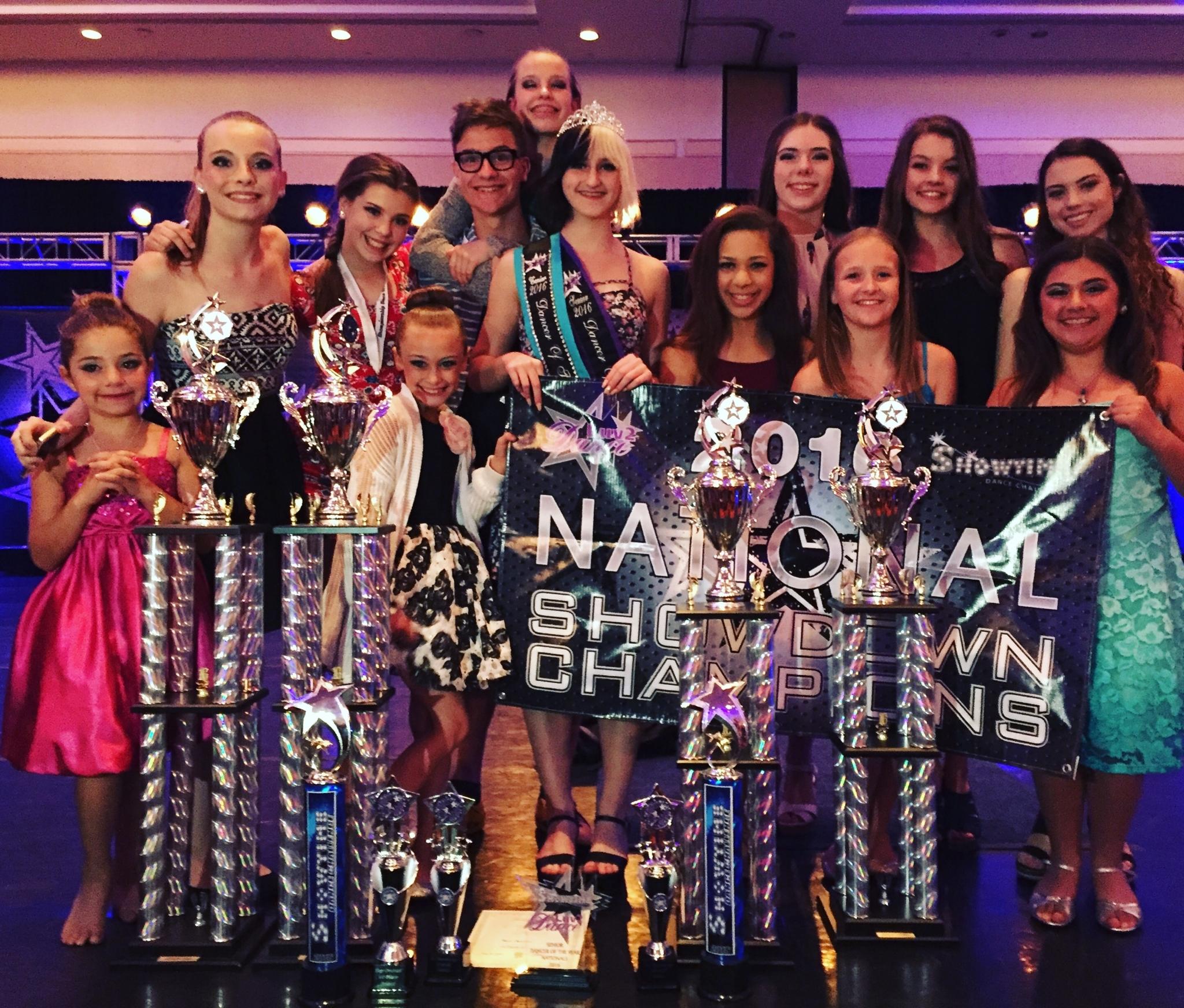 TK Danceworx in Kingston: Top Scoring Studio Nationals Orlando 2016