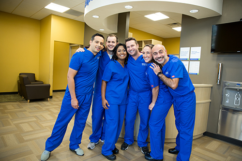 The Aspen Dental office team in Springfield, IL are happy to meet you now.