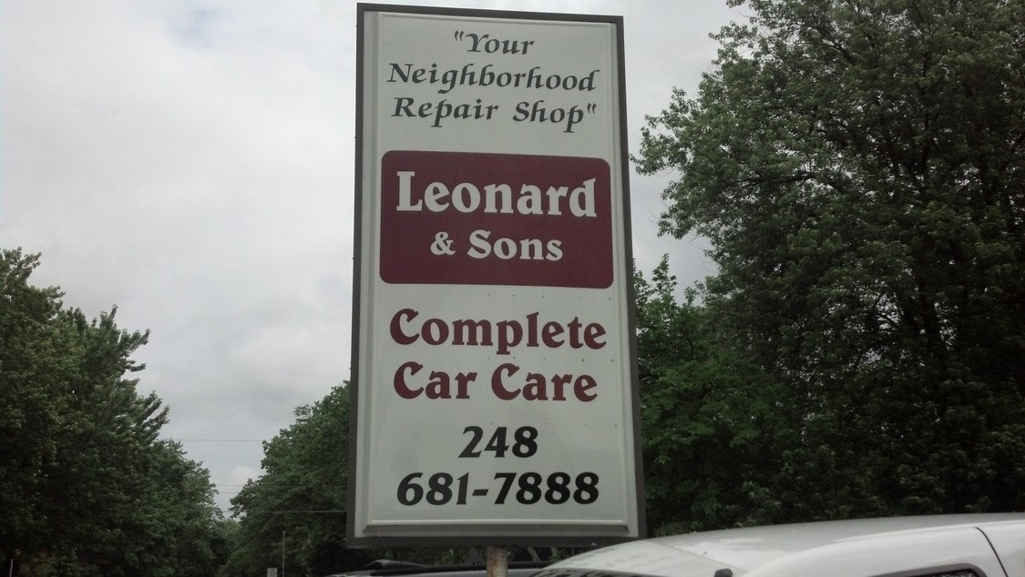 Leonard & Sons Complete Car Care image 0