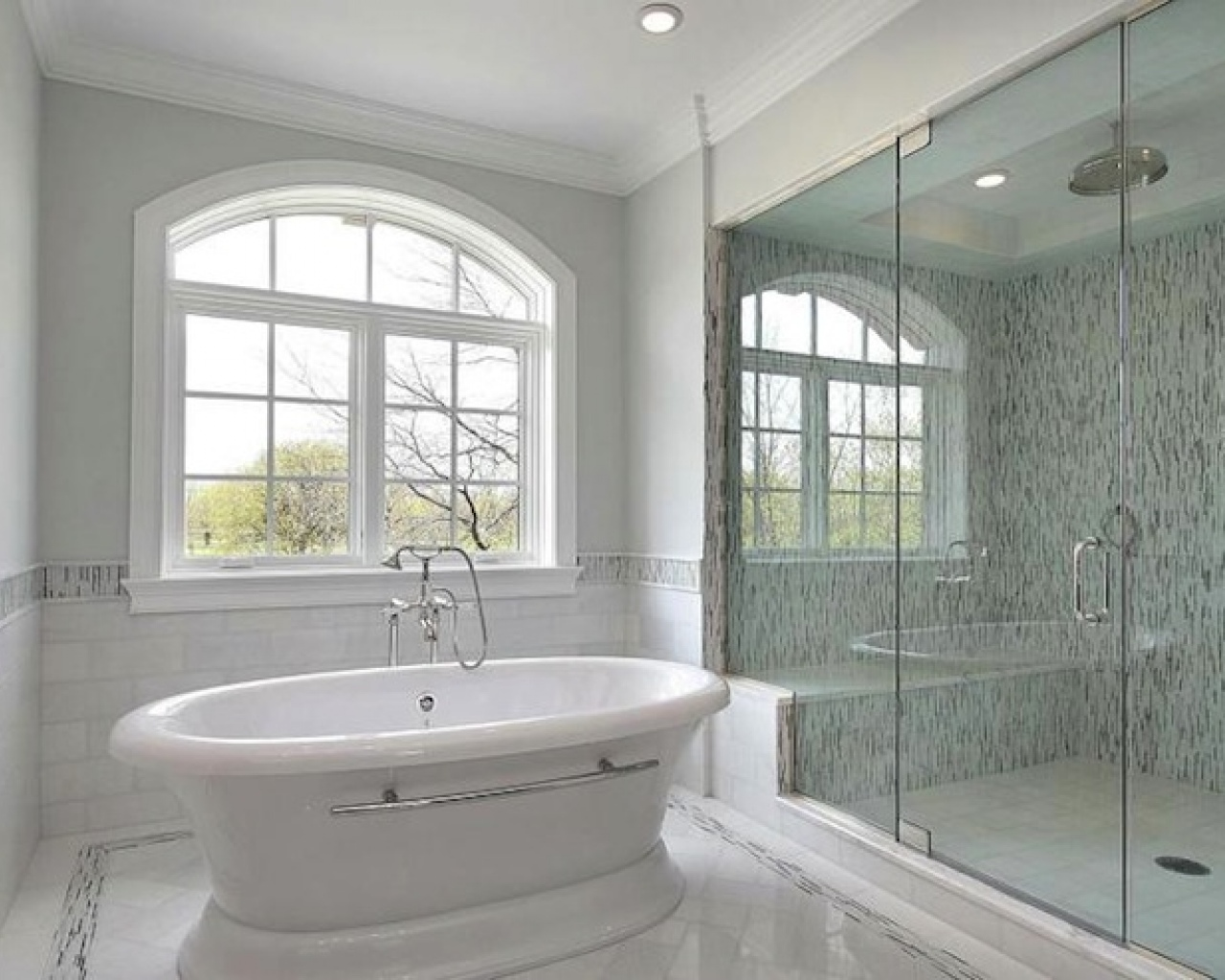 Stone and Water Bathroom Remodeling image 1