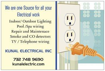 image of the Kunal Electrical Inc