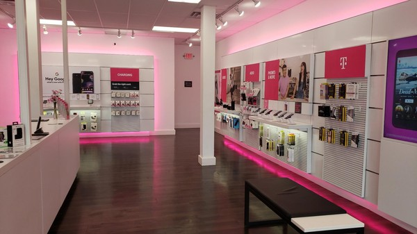 Interior photo of T-Mobile Store at Broadway & 10th, Alexandria, MN