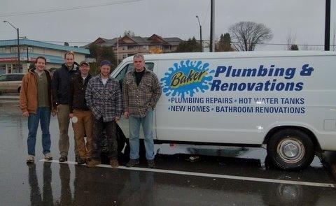 Baker Plumbing & Renovations in Duncan