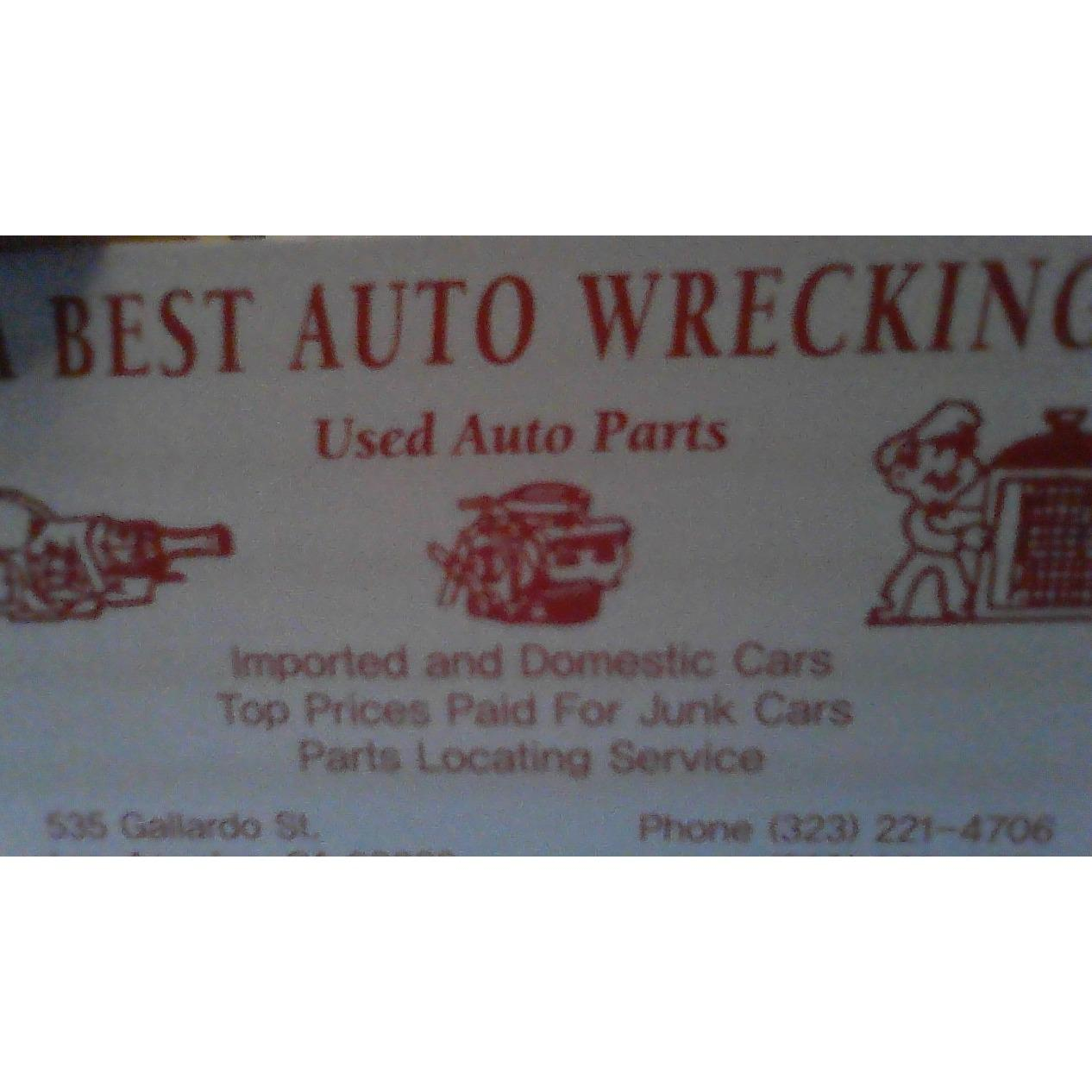 A best auto wrecking