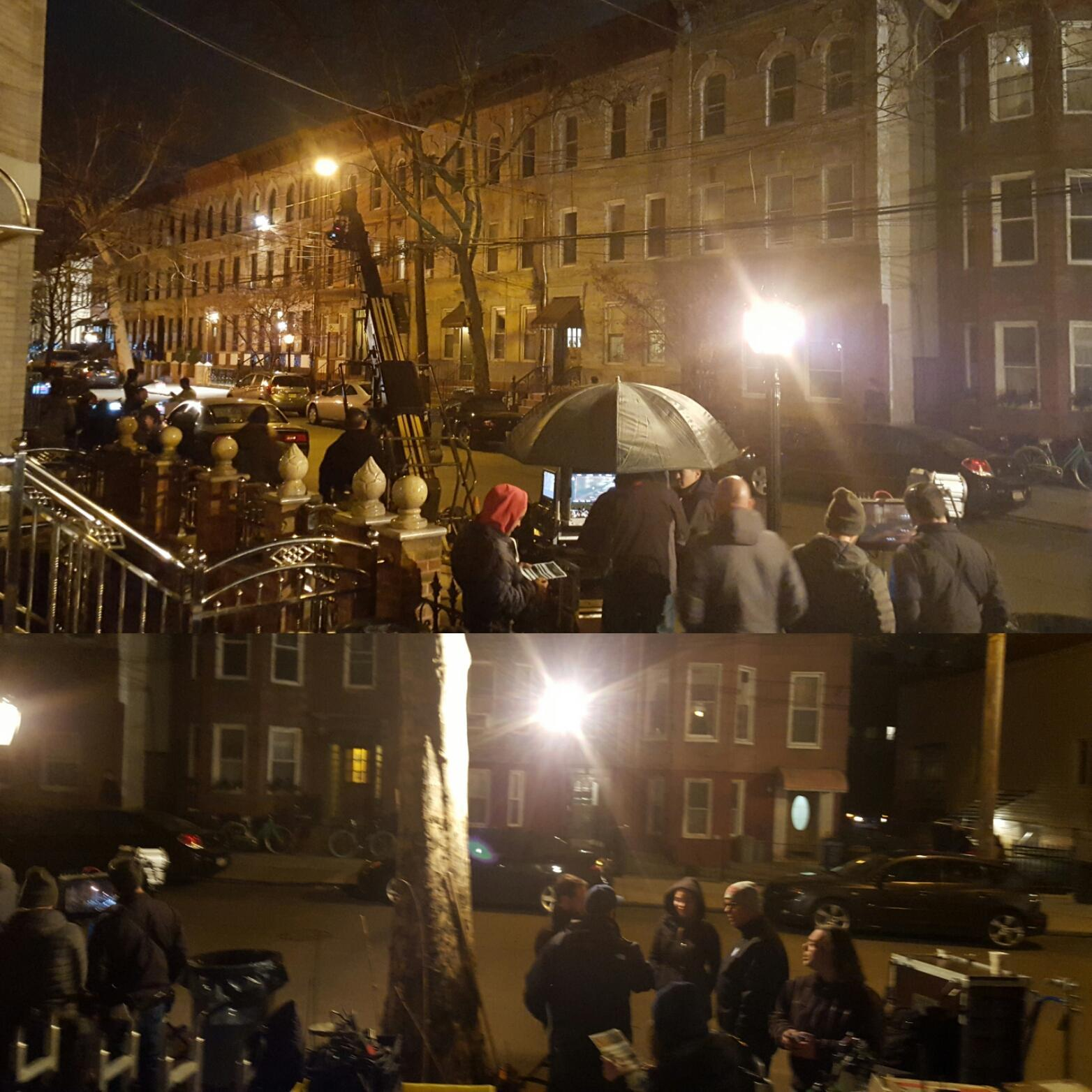 Filming Blue Bloods  in in front of one of our properties again. #Brooklyn #filming #Bluebloods #madeinnyc  #weloveny