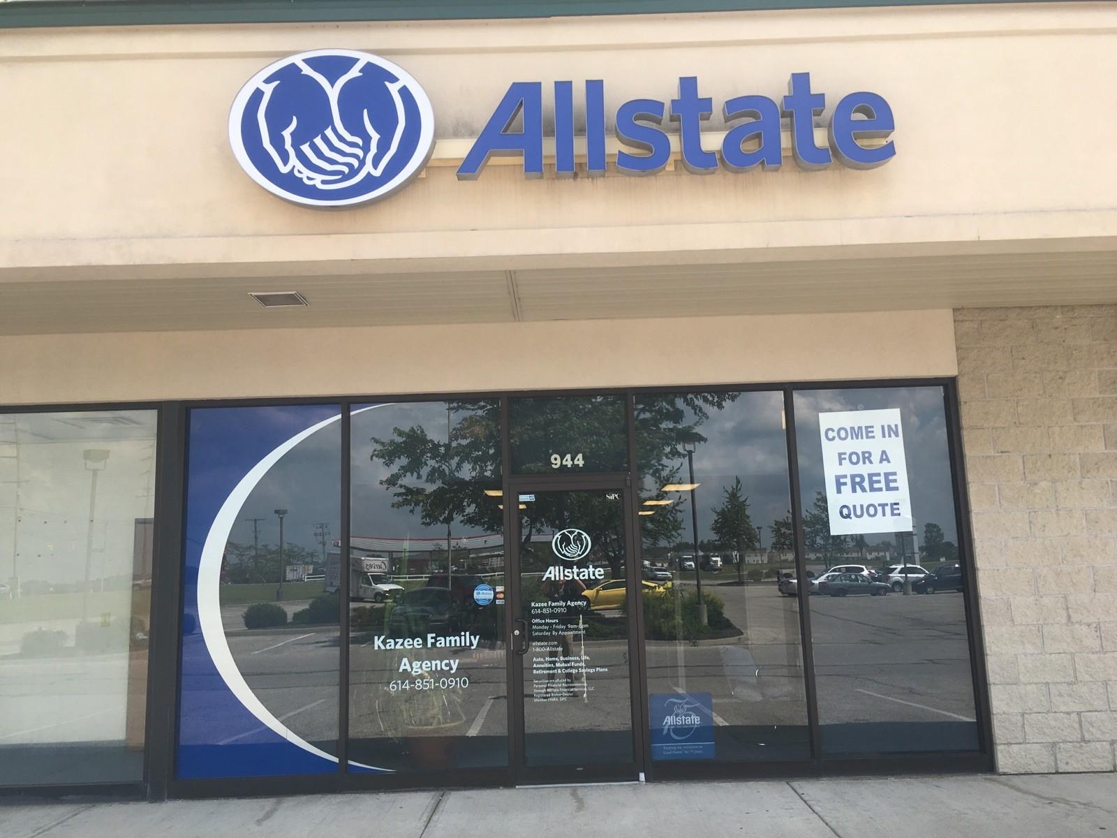 Allstate Insurance Agent: Michael Kazee image 0