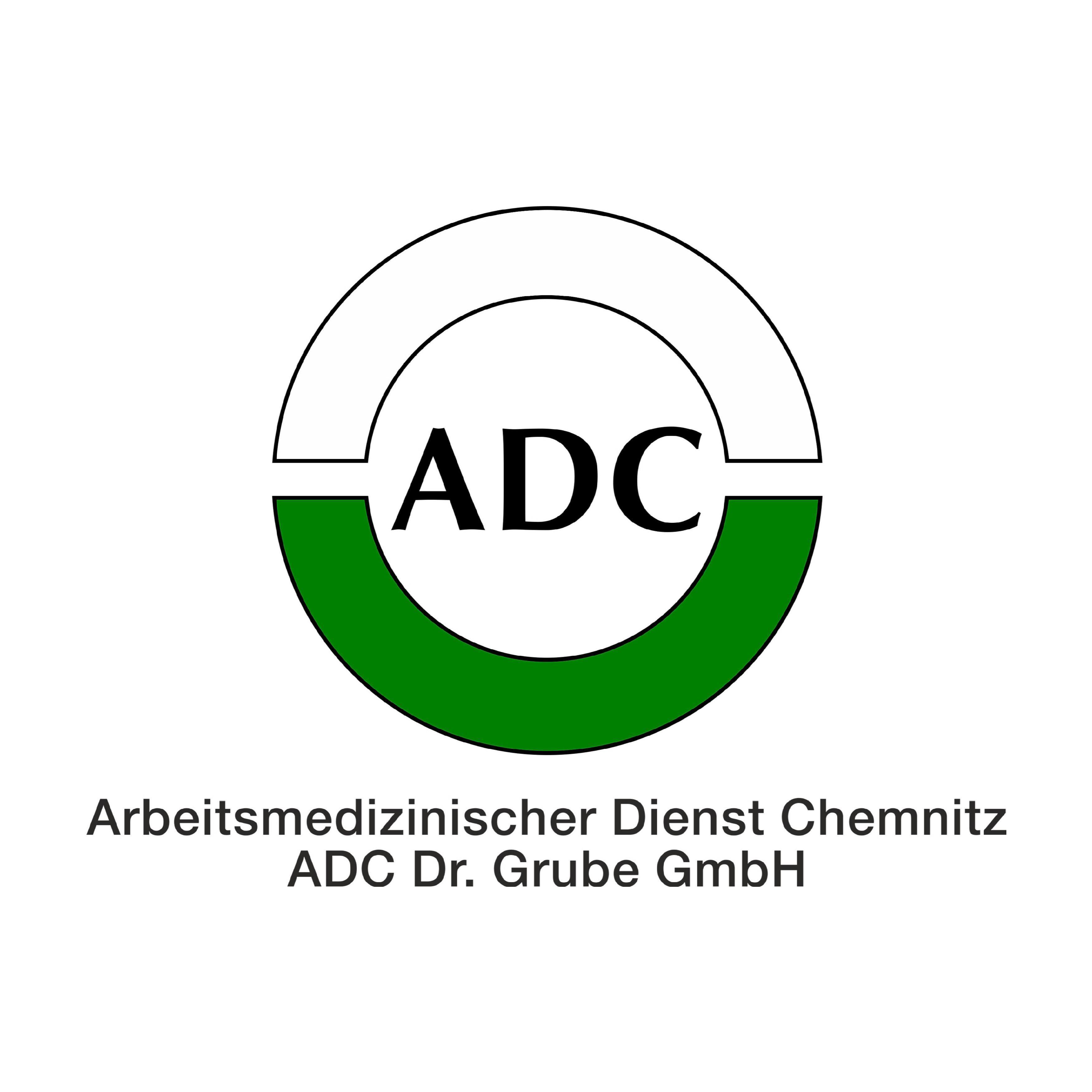 Logo von Arbeitsmedizinischer Dienst Chemnitz ADC Dr. Grube GmbH