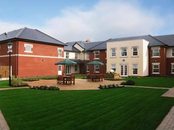 horse fair care home in rugeley staffordshire nursing