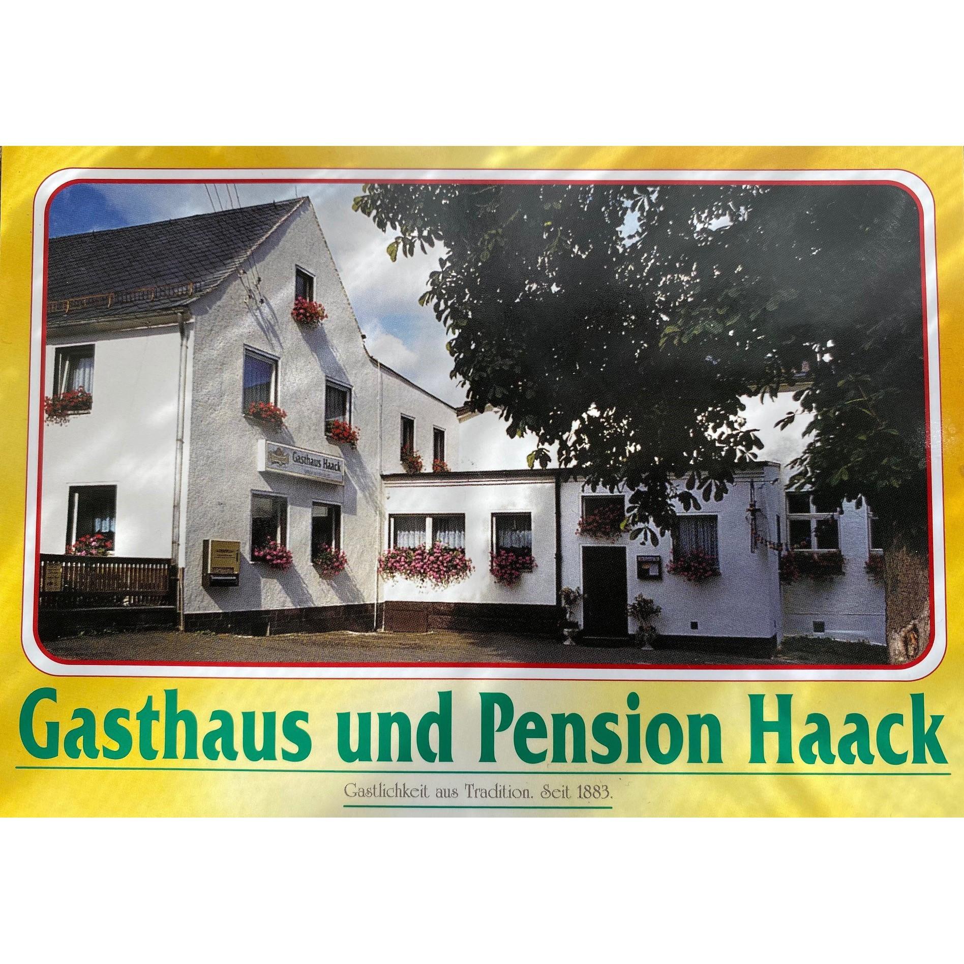 Logo von Gaststätte & Pension Haack