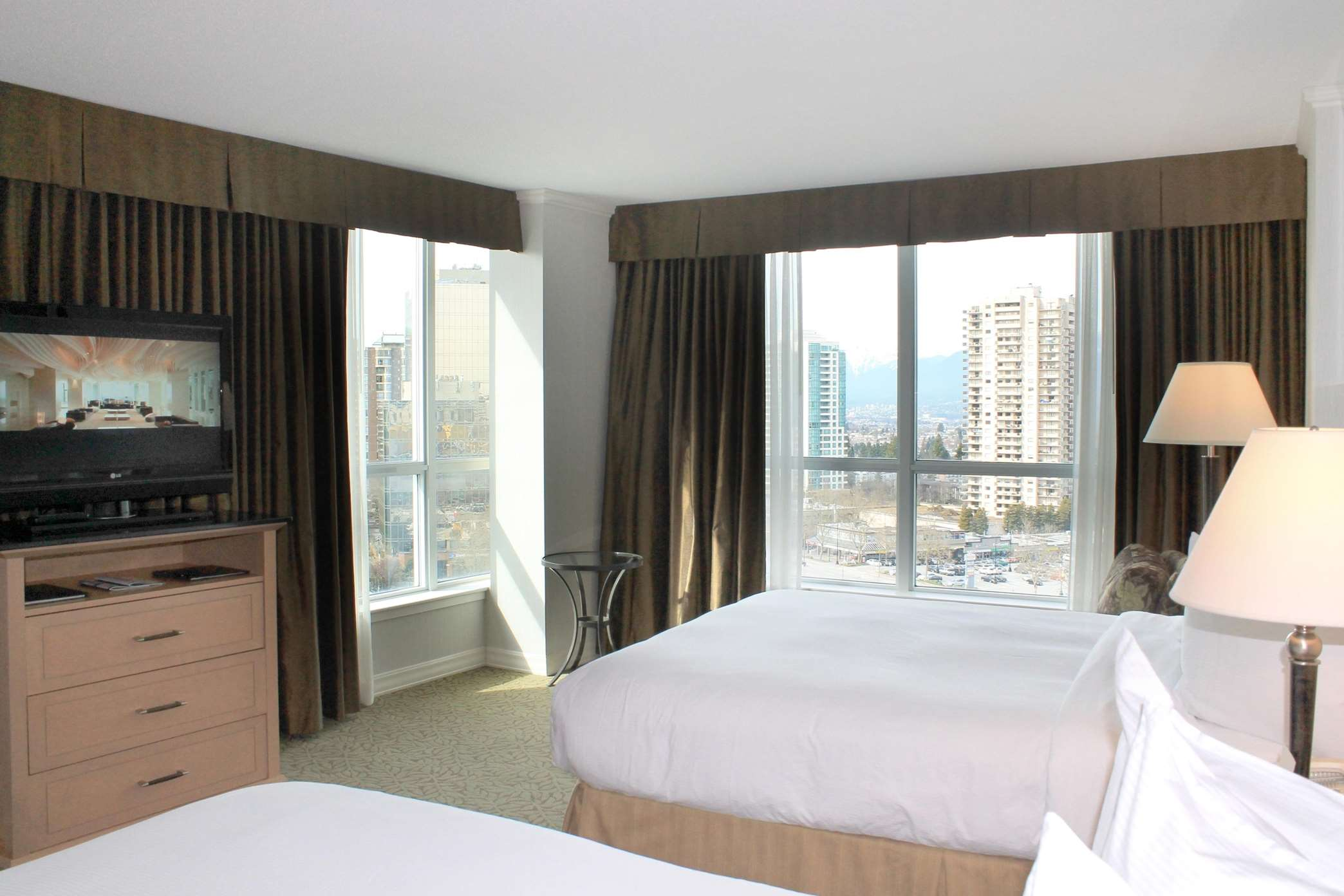 Hilton Vancouver Metrotown in Burnaby: 2 Queen Deluxe with View
