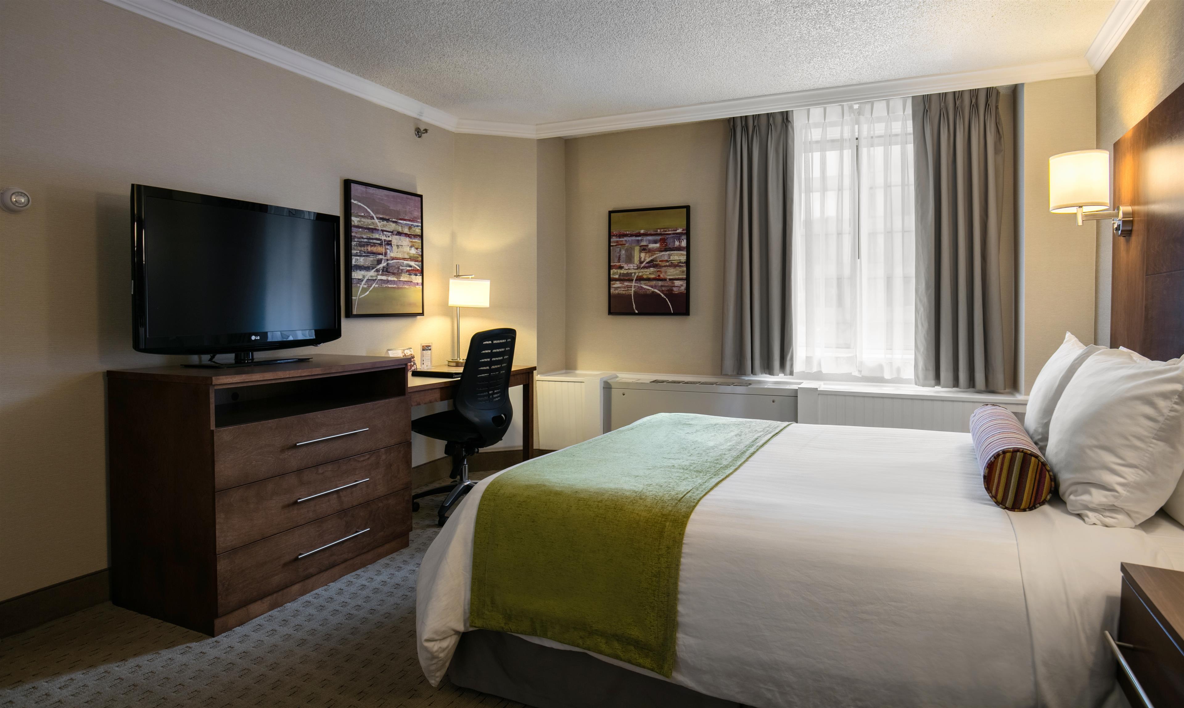 Best Western Ville-Marie Montreal Hotel & Suites à Montreal: Standard Queen Room