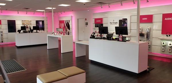 Interior photo of T-Mobile Store at Mendon Rd & I-295, Cumberland, RI