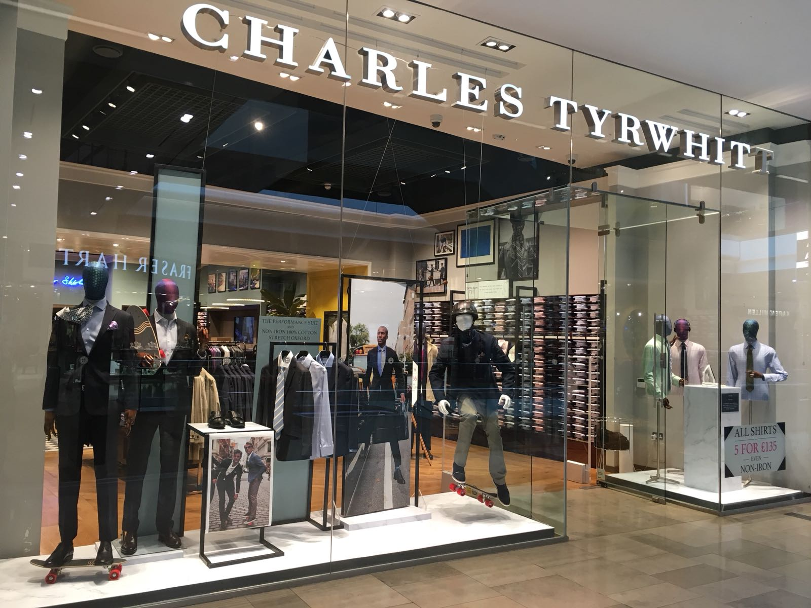 Westfield Stratford Store Charles Tyrwhitt
