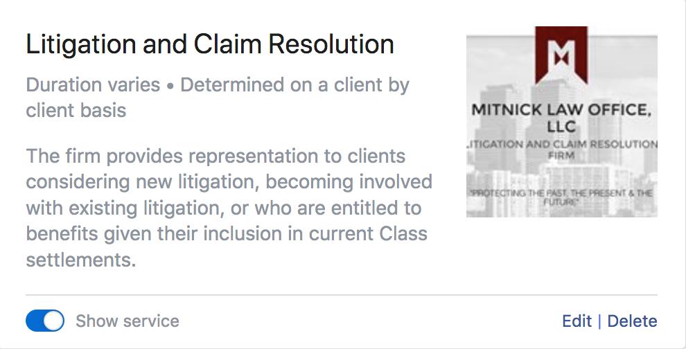 Mitnick Law Office / Craig Mitnick image 2