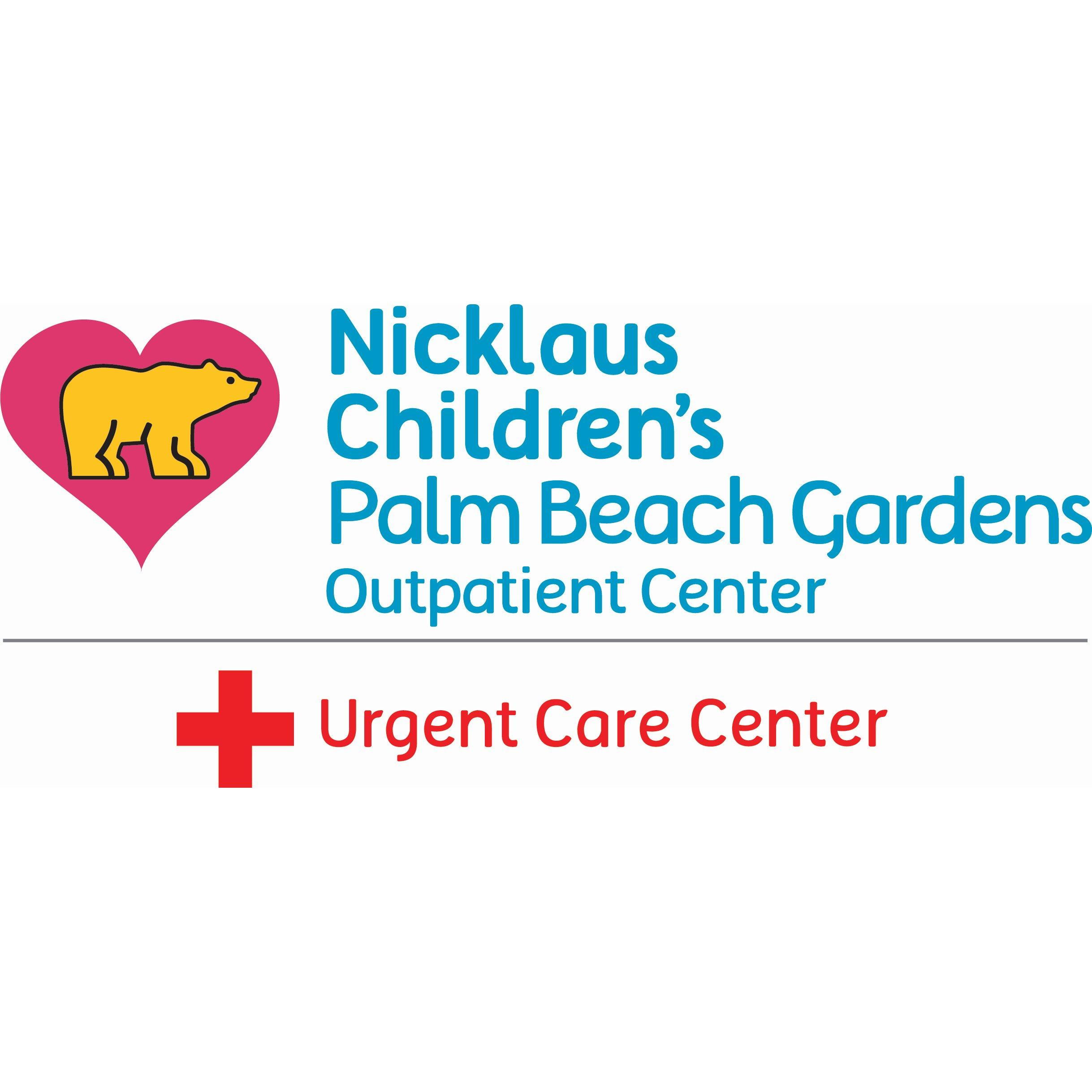 Nicklaus Children's Palm Beach Gardens Urgent Care Center