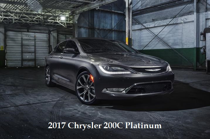 2017 Chrysler 200C Platinum For Sale in Appleton, WI