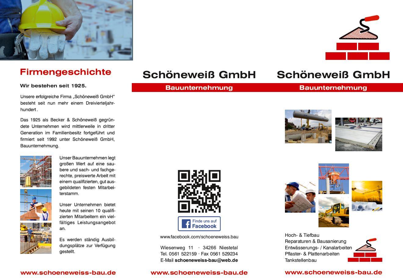 sch newei gmbh bauunternehmung bauunternehmen niestetal sandershausen deutschland tel. Black Bedroom Furniture Sets. Home Design Ideas