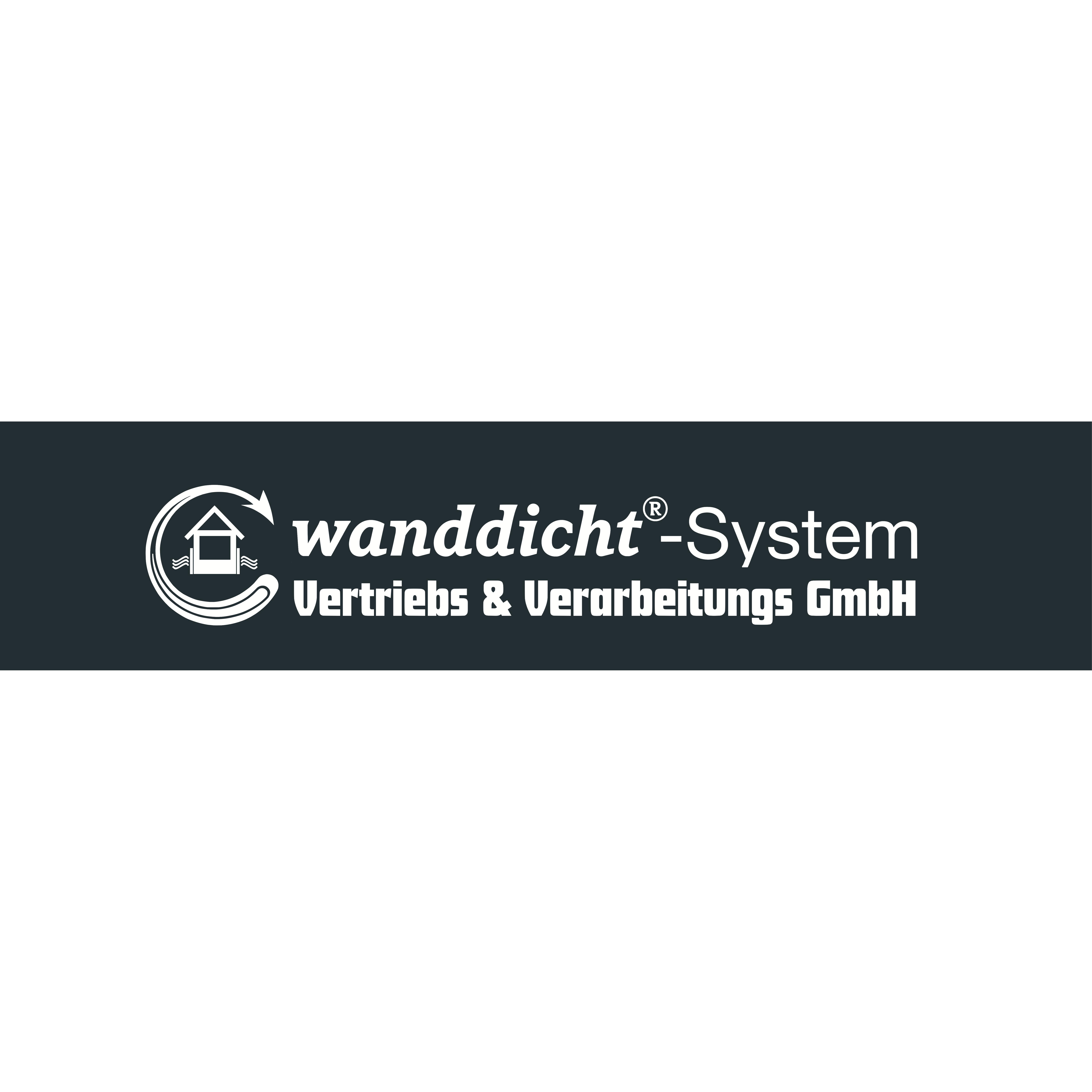 Logo von wanddicht®-System Vertriebs & Verarbeitungs GmbH - Grüne Wanne® Berlin