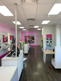 Interior photo of T-Mobile Store at Shaker Sq & N Moreland Blvd, Cleveland, OH
