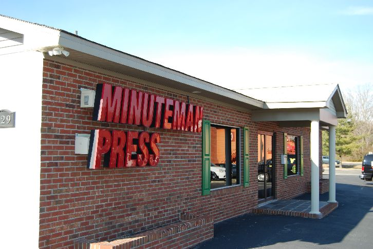 Minuteman press in salisbury md whitepages for Backyard barns fruitland md