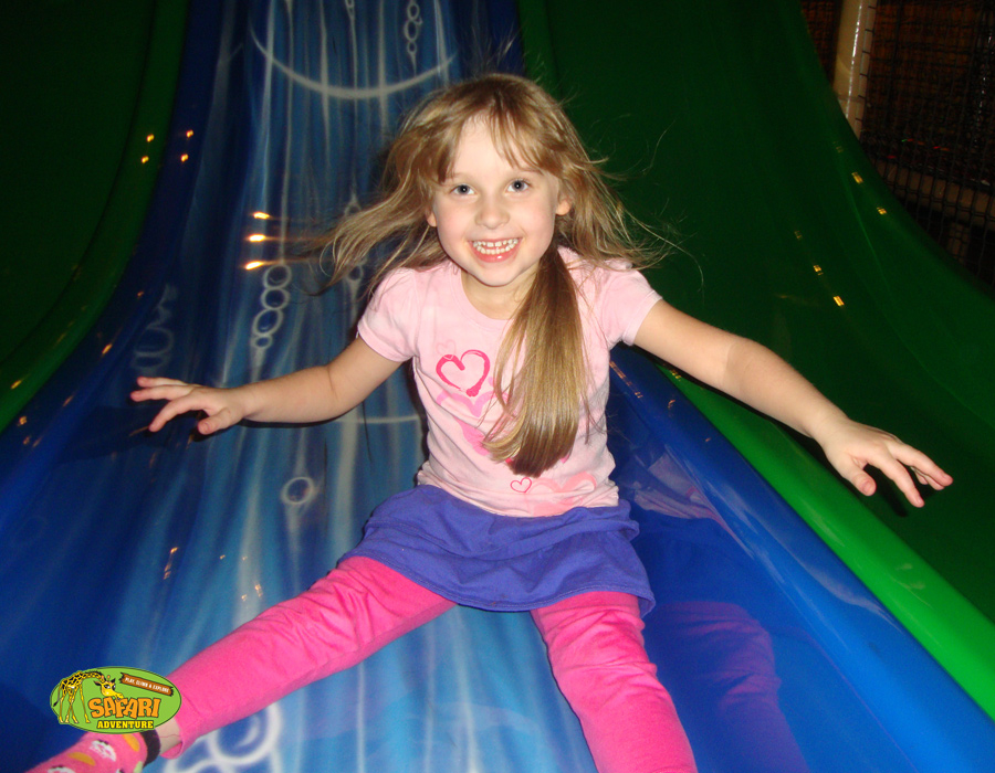 Slides and fun indoors at Safari Adventure, Riverhead NY