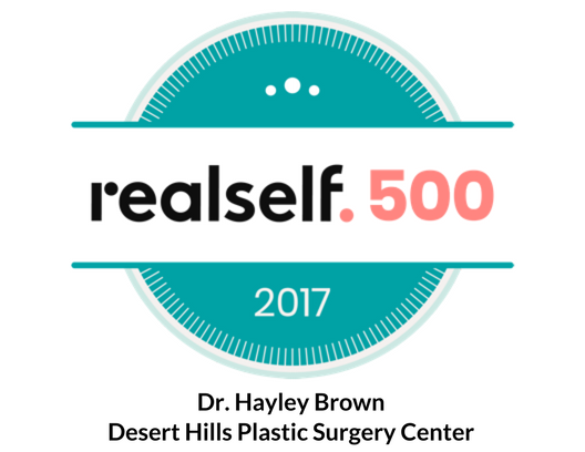 RealSelf Top 500 Doctor - Dr. Hayley Brown