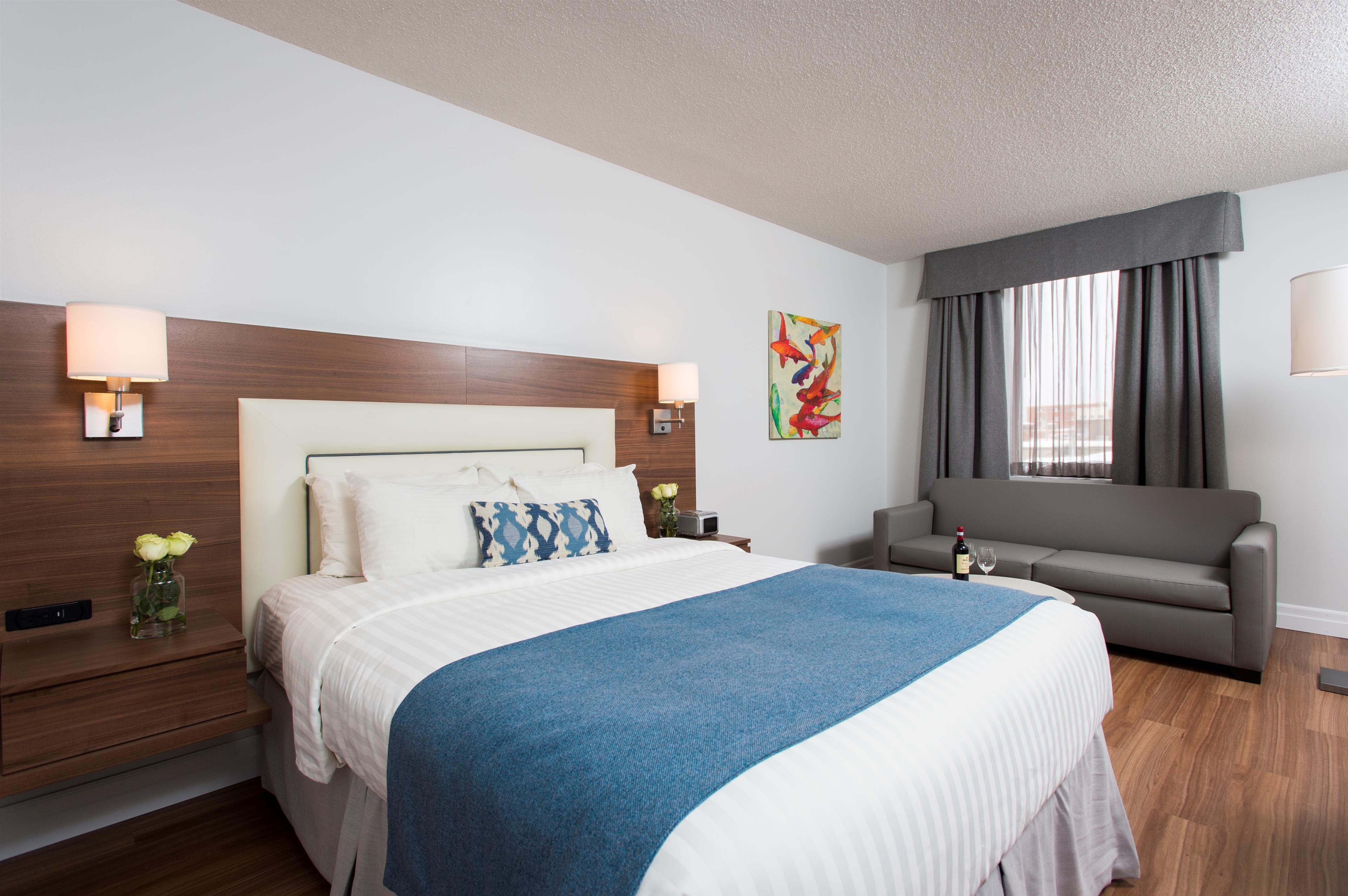 Best Western Plus Hotel Albert Rouyn-Noranda à Rouyn-Noranda: Single Bedroom