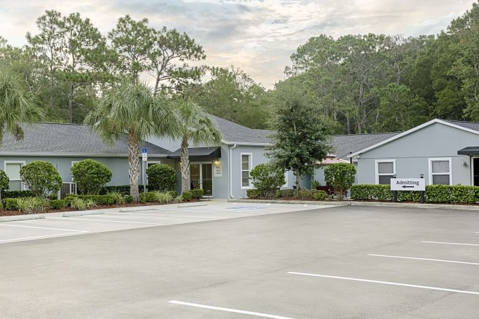 Novus Medical Detox Center's Tampa Bay facility.