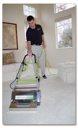 Try the new way of carpet cleaning with Valet Clean.