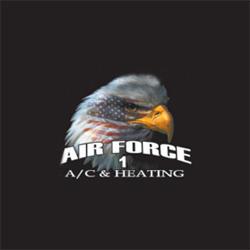 Air Force 1 A/C & Heating Logo