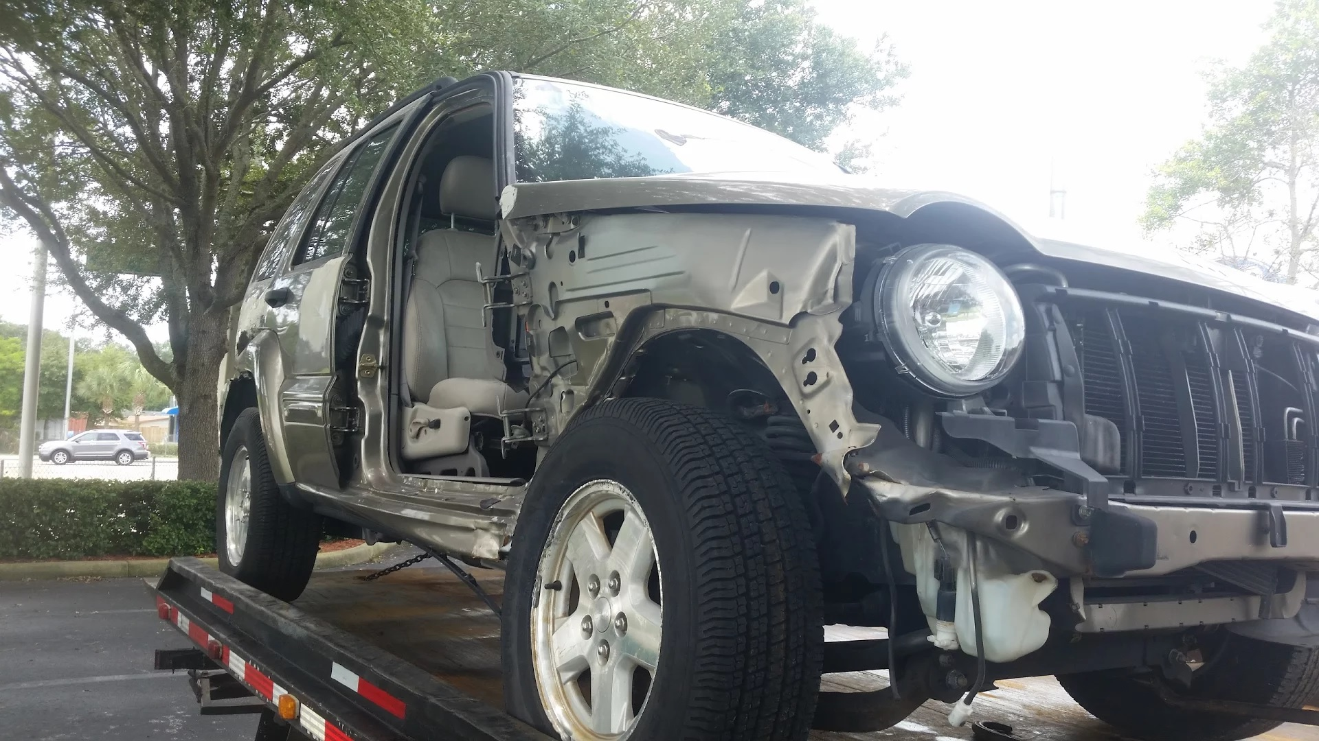2003 Jeep Liberty, some assembly required