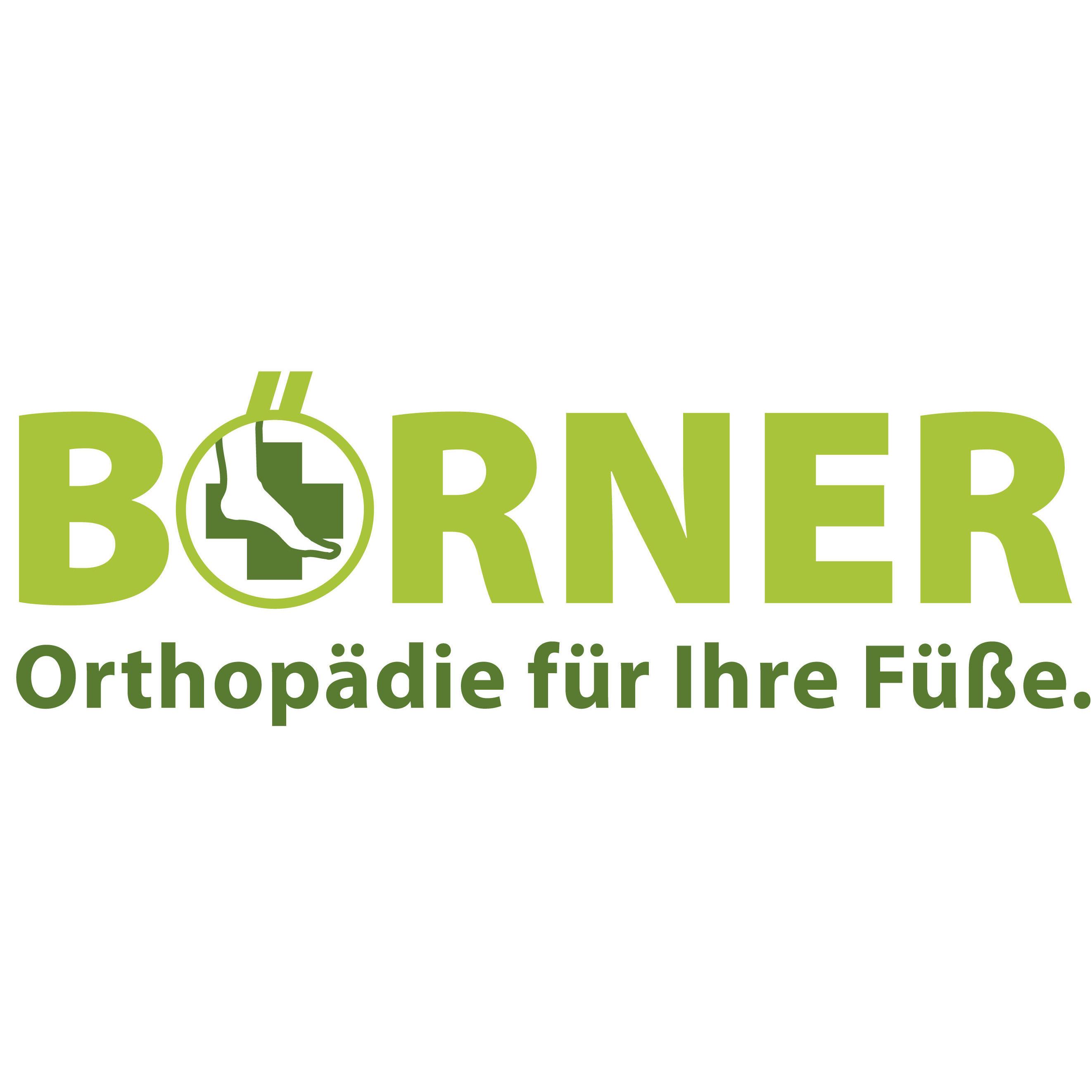 Logo von Börner René Orthopädie Schuhtechnik