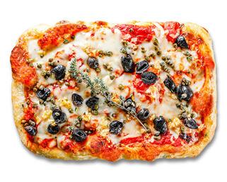 Sicilian Pizza made by P.ZA Kitchen.