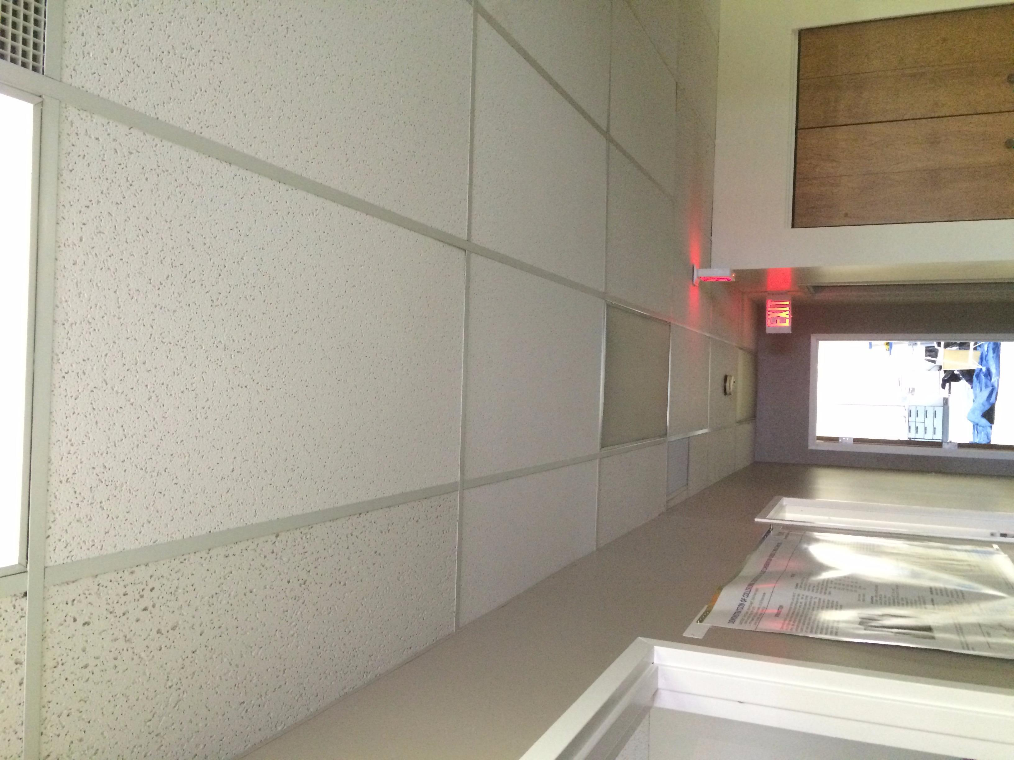 Ceiling tile replacement