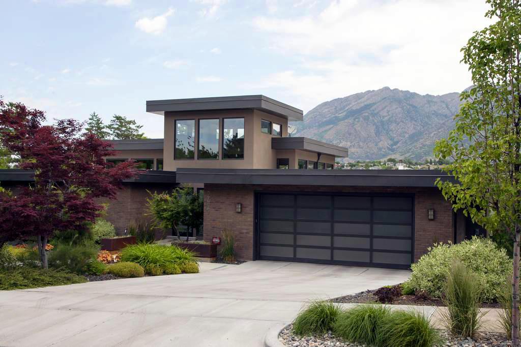 Creative Door - Vancouver Garage Door & Overhead Door Specialists in Delta: Martin Door Athena Luxury Modern Garage Door Style