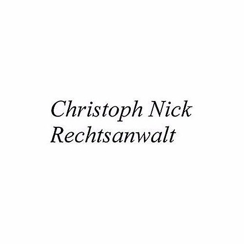 Christoph Nick Rechtsanwalt
