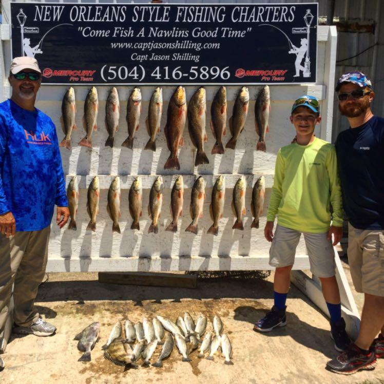 New Orleans Style Fishing Charters LLC image 46