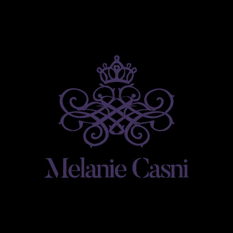 Barockes Logo der Sängerin Melanie Casni aus Ludwigsburg