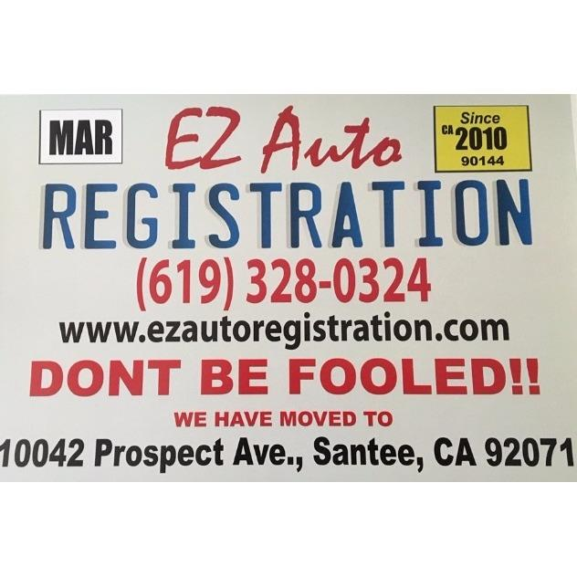 EZ Auto Registration Inc. - Samtee, CA 92071 - (619)328-0324 | ShowMeLocal.com