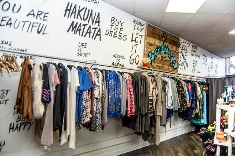 Boomerang clothing store