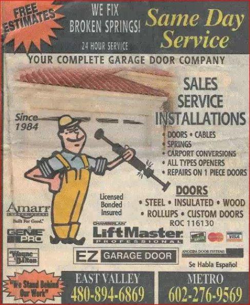 E Z Garage Doors image 0