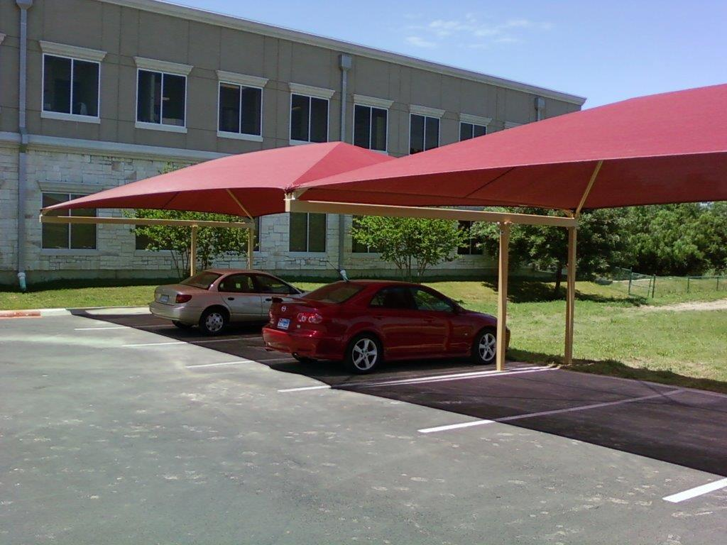 We Offer A Variety Of Carport And Parking Lot Shade Options