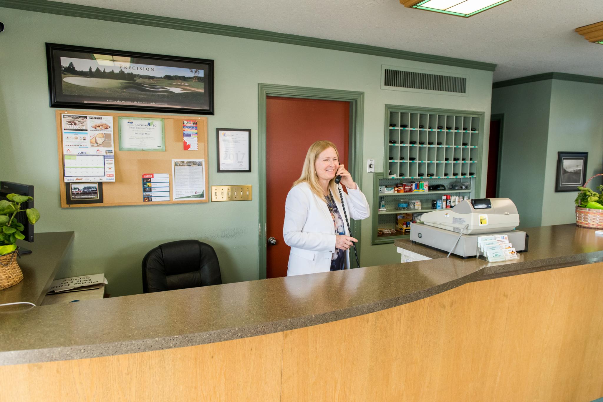 The Lodge Motor Inn in Dawson Creek
