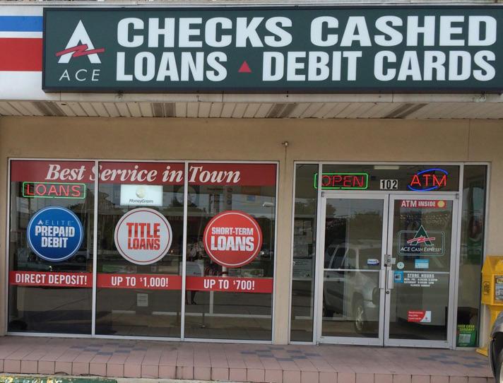 Ace cash express metairie la business directory - Cash express la valentine ...