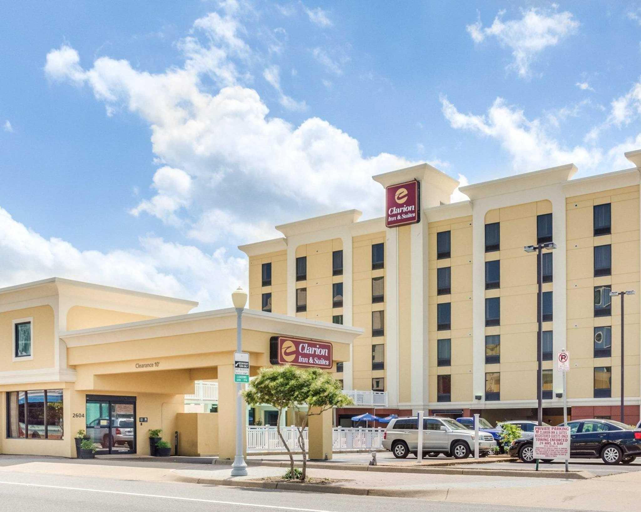 clarion inn   suites at 2604 atlantic avenue  virginia